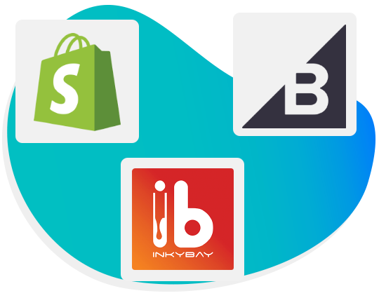 Inkybay Shopify BigCommerce integration