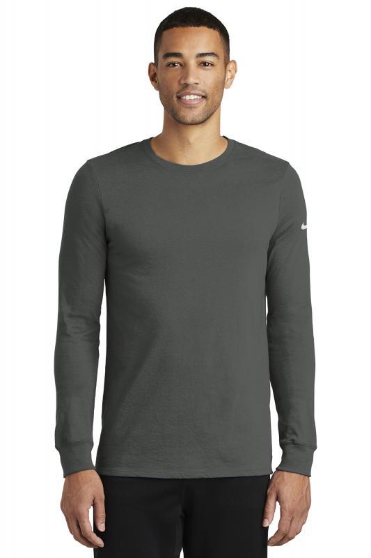 b7f4e535 Nike Dri-FIT Cotton/Poly Long Sleeve Tee – OrangeHalo